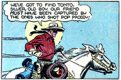 The Lone Ranger c. 1941