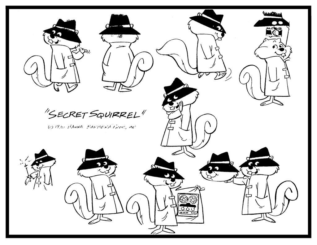 Secret squirrel gold rushed