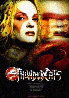 Thunder   Movie on Uma Thurman Ser   Cheetara En The Thundercats The Movie