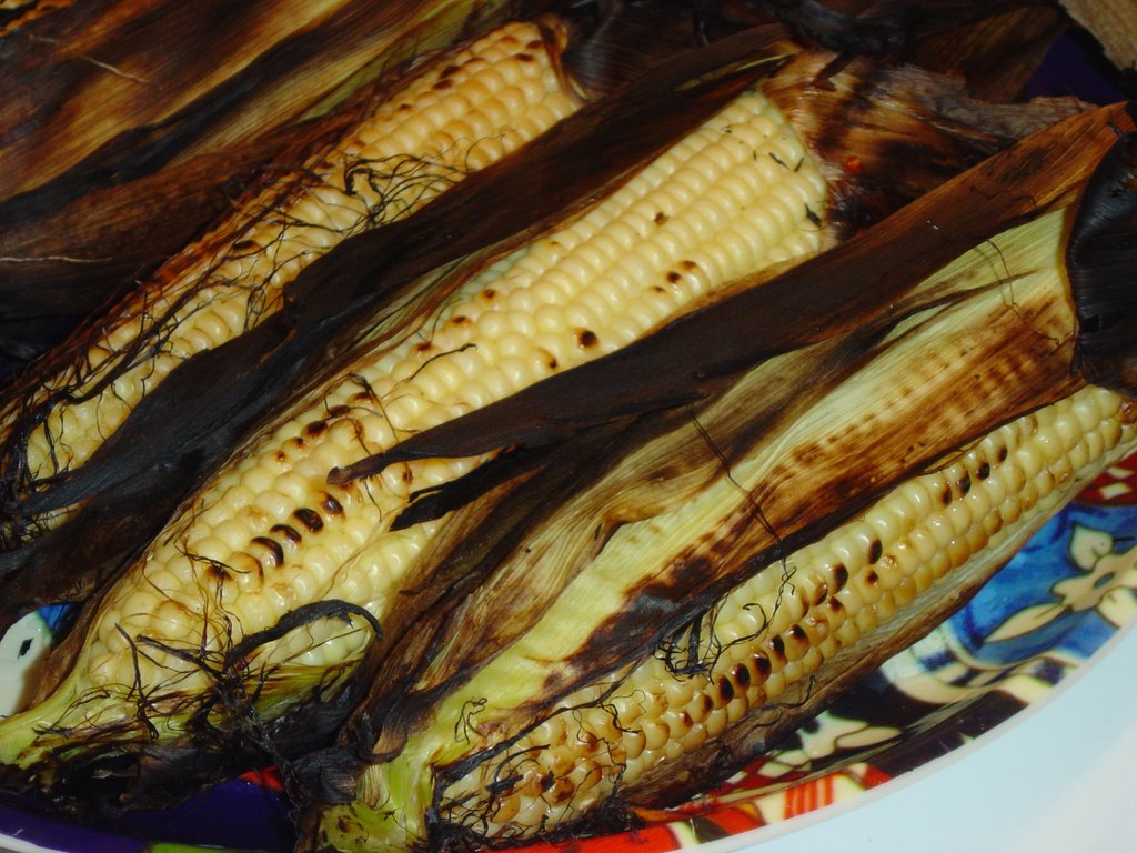how to cook corn on hob on bbq