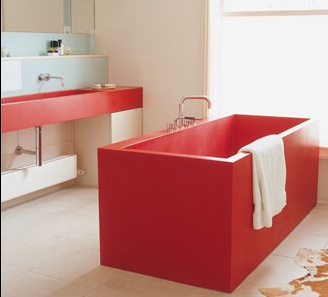Fabulously Green: Bold New Baths