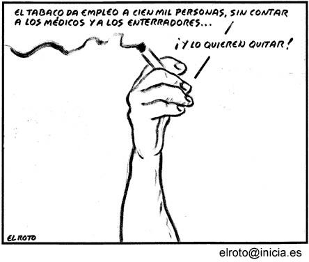 El Roto: Tabaco