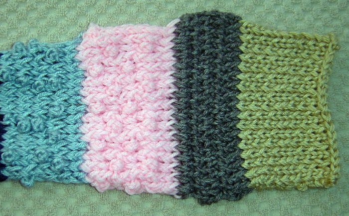 Knitting Stitches Popcorn : Kids Cats & Knitted Hats: Two More Samplers & a Kitty Mystery