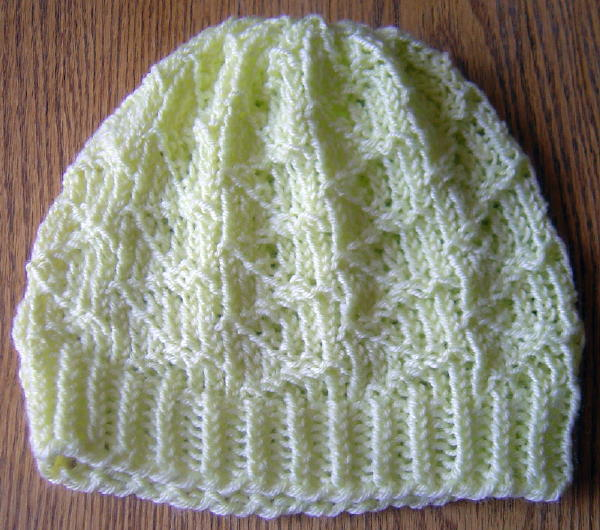 Zig Zag Hat Knitting Pattern : Kids Cats & Knitted Hats:
