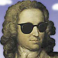Bach that rocks, all day long.