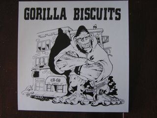 Gorilla Biscuits Tour Single - Front Cover