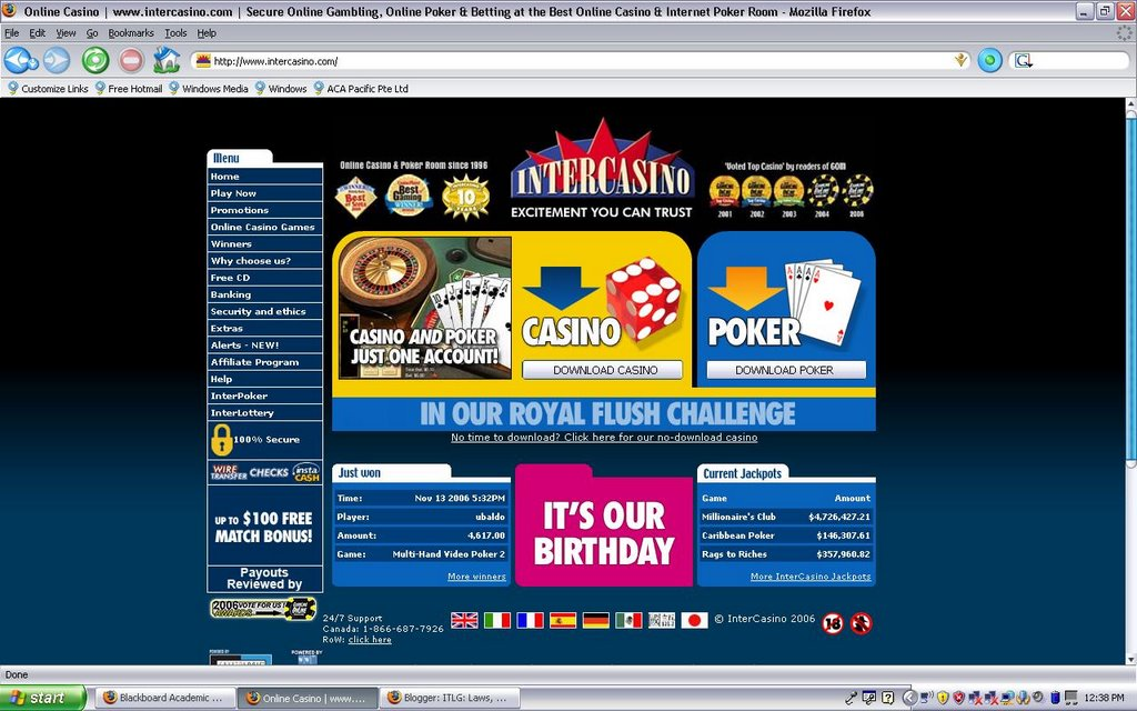 Online gambling links aquarios casino