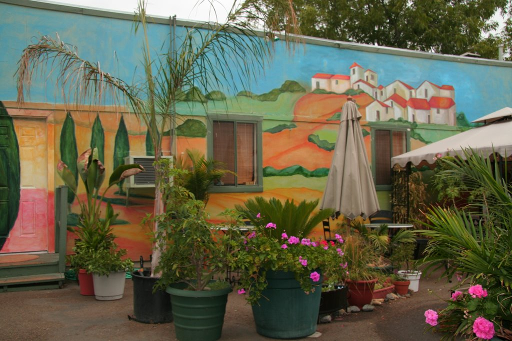 The espresso garden september 2006 for Cypress gardens mural