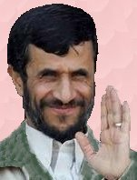Picture of Iran's Mahmoud Ahmadinejad