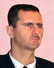 Picture of Syria's Bashar Assad