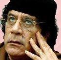 Picture of Libya's Muamar Gaddafi