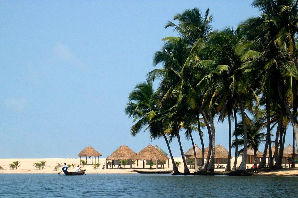 maranatha beach camp, ada beach, ada foah, travel with april,