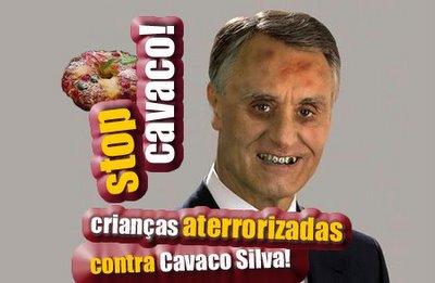 @ Crianças Aterrorizadas contra Cavaco Silva