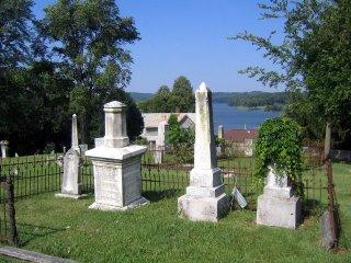 bethel historic cemetery, kingston, tn - byrd family plot