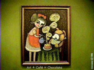 Art + Cafe = Chocolata @ itceremony 2006