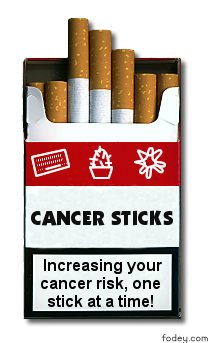 Create your own cigarette pack