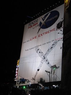 "The Rexona ""Live"" Billboard"