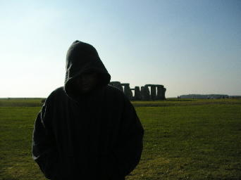 Me at Stonehenge. Click for the full-sized picture.