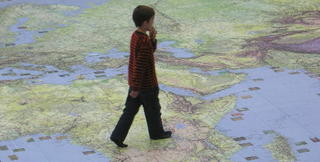 Kid and Map