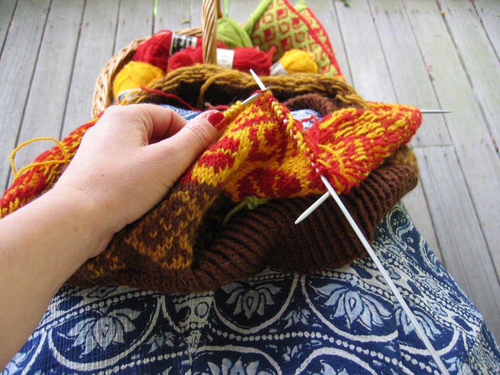 Pine Cone Knitting Pattern : Pine Cone Lodge: Knitting made easier..... kind of