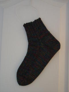 One lonely (but well fitting!) sock