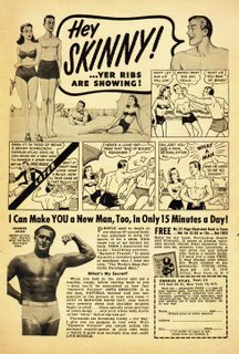 charles atlas Push ups