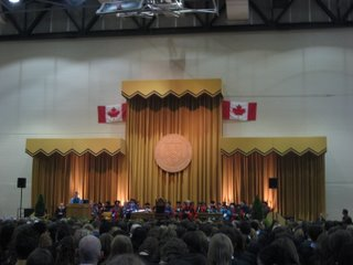 Convocation Stage