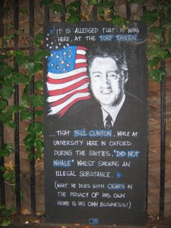 Bill Clinton Plaque