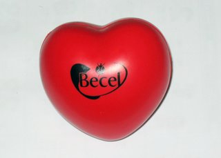 Becel Heart Shaped Stress Toy