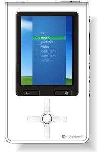 Toshiba Gigabeat S Series Portable Media Center