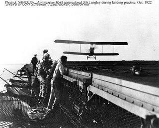 LANGLEY first landing 10/26/1922