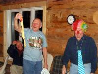 Impromptu presentations at Chatter Creek - The Limp Cock Award