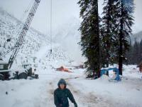 Early winter snowfall at Chatter Creek