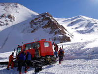 Snowcat at Ski Arpa in Chile