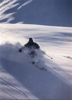 Powder skiing photography by John Dougall