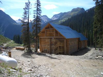 New steps and railings on Solitude Lodge decks