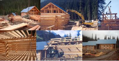 Solitude Lodge Construction in 2004