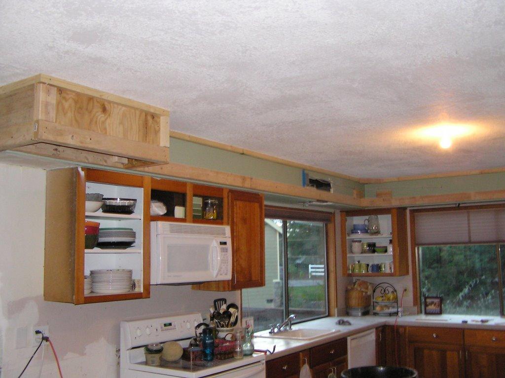 10k Kitchen Remodel Wall Work