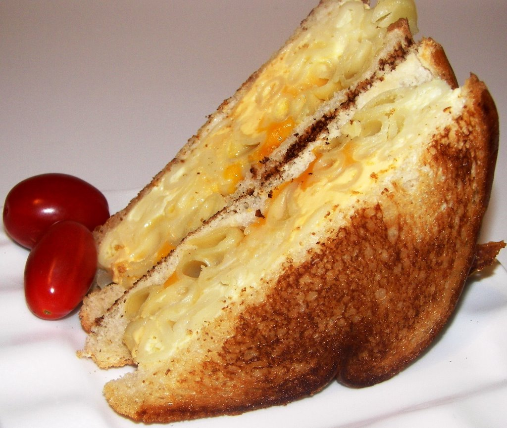Flavors: Grilled Macaroni & Cheese Sandwich