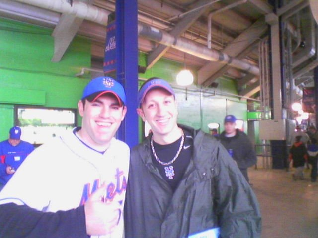 Scott and me at Opening Day