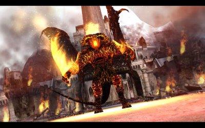 Balrog en Minas Tirith