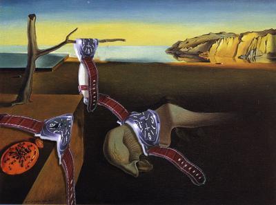 el tiempo de Dalí