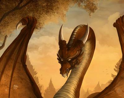 La gran dragona del huevo espera a Dinorider