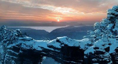 La región de las nieves