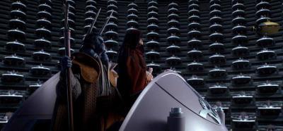 el emperador Palpatine en el senado galáctico