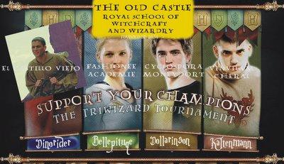 El Triwizard Tournament, la competencia de los centros de enseñanza mágica