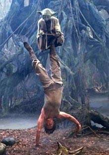 Yoda baila con Luke