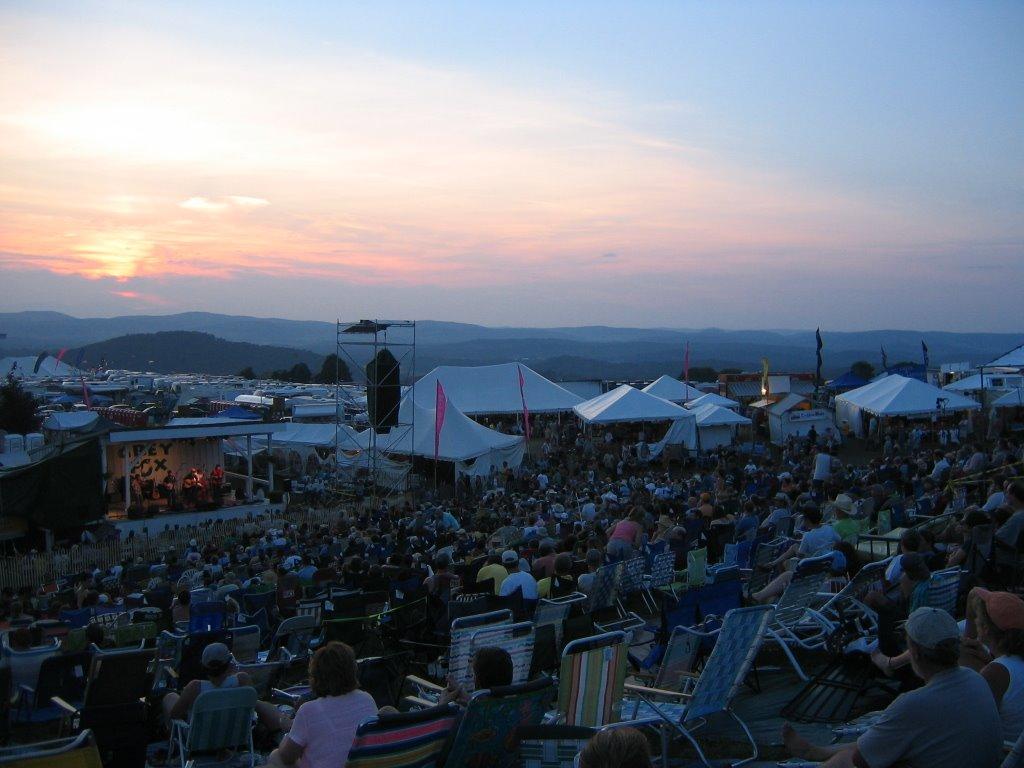 York Staters Summer In New York Grey Fox Bluegrass Festival