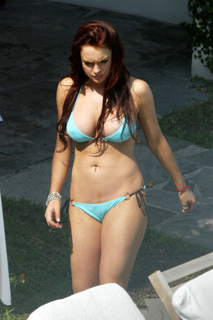 Lindsay lohan sex collection having risky sex