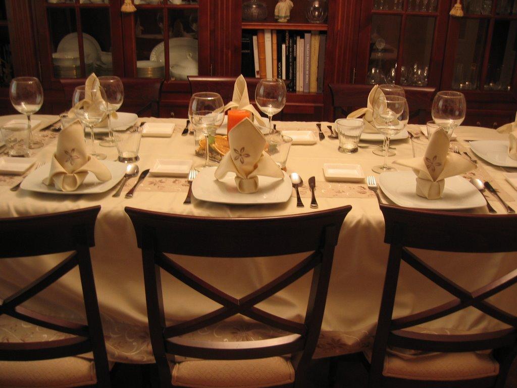 La cocina de mami de cena en casa con amigos - Cena con amigos en casa ...